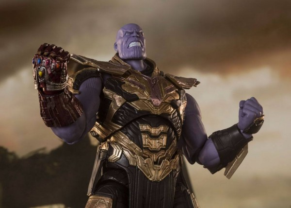 Avengers Endgame S.H. Figuarts Actionfigur Thanos (Final Battle)
