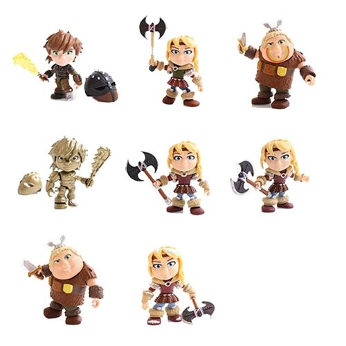 How To Train Your Dragon Heroes & Humans Action-Vinylfigur Wave 2 Astrid Racing