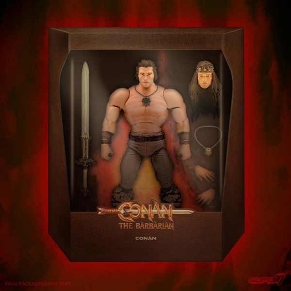 Conan der Barbar Ultimates Actionfigur Conan (Iconic Movie Pose)