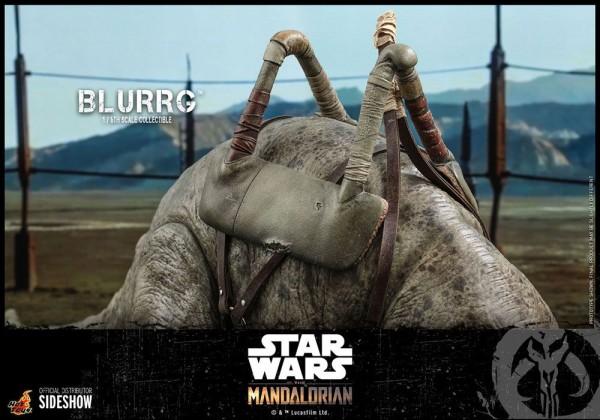 Star Wars The Mandalorian Television Masterpiece Actionfigur 1/6 Blurrg