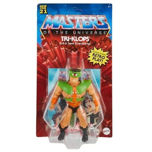 Masters of the Universe Origins 2021 Actionfigur Tri-Klops