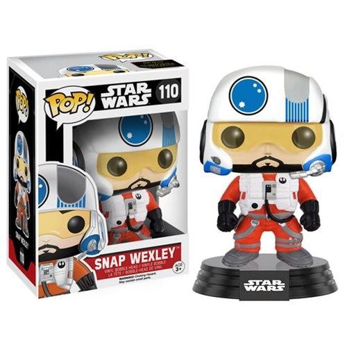Star Wars Force Awakens Funko Pop! Vinylfigur Snap Wexley 110