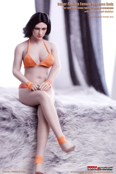 Phicen / TBLeague 1/6 Actionfigur S28A Female Seamless Buxom Body (Pale)