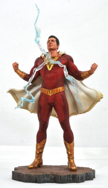 Shazam Movie Gallery Statue Shazam