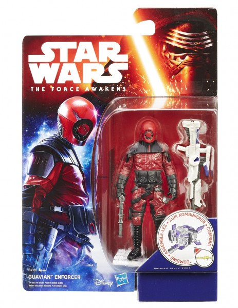 Star Wars Force Awaken Snow/Desert 10 cm Actionfigur Guavian Enforcer (VII)