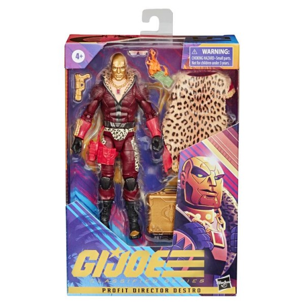 G.I. Joe Classified Series Actionfigur 15 cm Profit Director Destro (Exclusive)