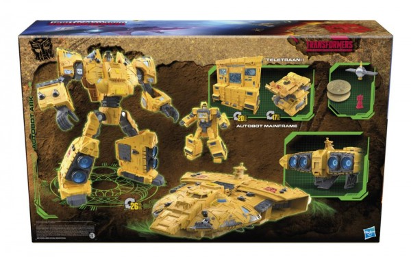 Transformers Generations War For Cybertron KINGDOM Titan Autobot Ark