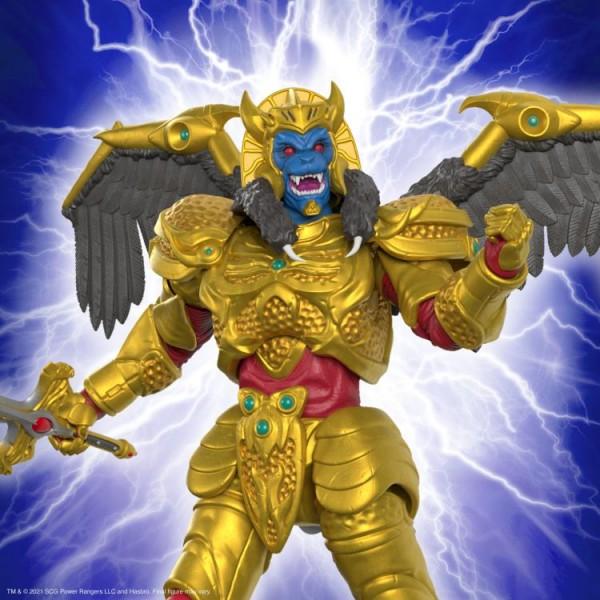 Power Rangers Ultimates Actionfigur Goldar