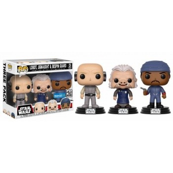 Star Wars Funko Pop! Vinylfiguren Lobot, Ugnaught & Bespin Guard 3-Pack Exclusive