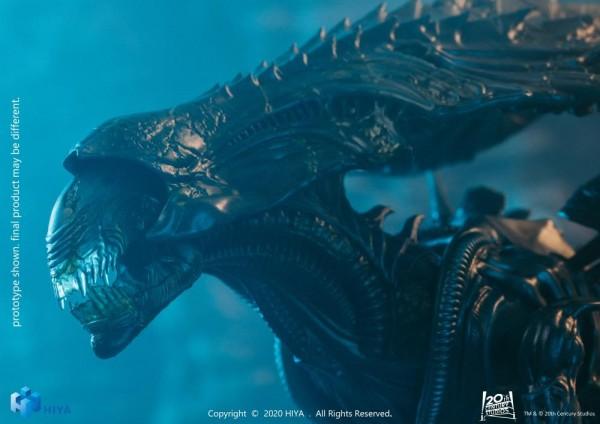 Alien vs. Predator Actionfigur 1/18 Alien Queen (Battle Damage) Exclusive