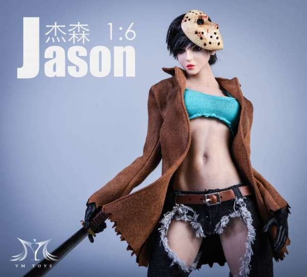 YMTOYS 1/6 Jason Girl (Costume & Head)