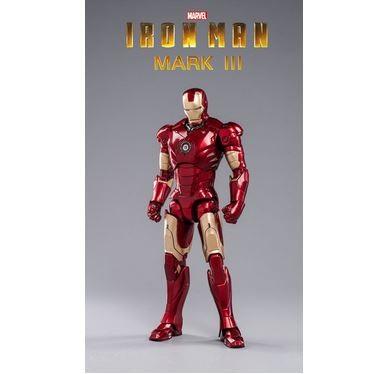 ZD Toys Actionfigur 1/10 Iron Man Mark III