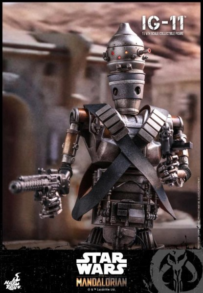 Star Wars The Mandalorian Television Masterpiece Actionfigur 1/6 IG-11