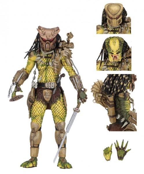 Predator 1718 Actionfigur Ultimate Elder: The Golden Angel