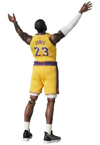 NBA MAF EX Actionfigur LeBron James (LA Lakers)