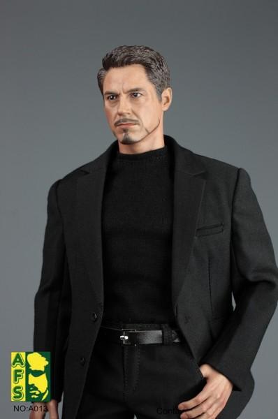 AFS Actionfiguren-Zubehör 1/6 Men's Casual Black Suit 2.0