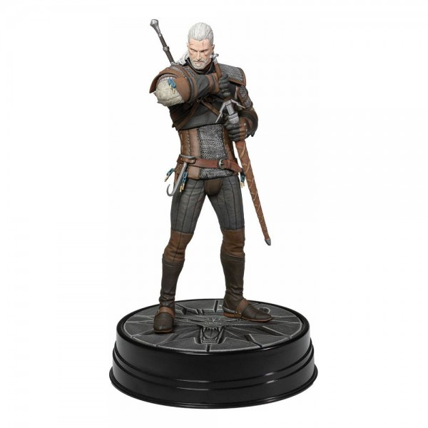 Witcher 3 Wild Hunt PVC Statue Heart of Stone Geralt (Deluxe)