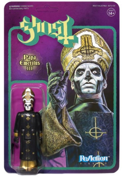 Ghost ReAction Actionfigur Papa Emeritus III