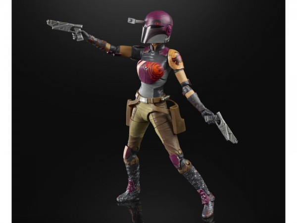 Star Wars Black Series Actionfigur 15 cm Sabine Wren (Rebels)