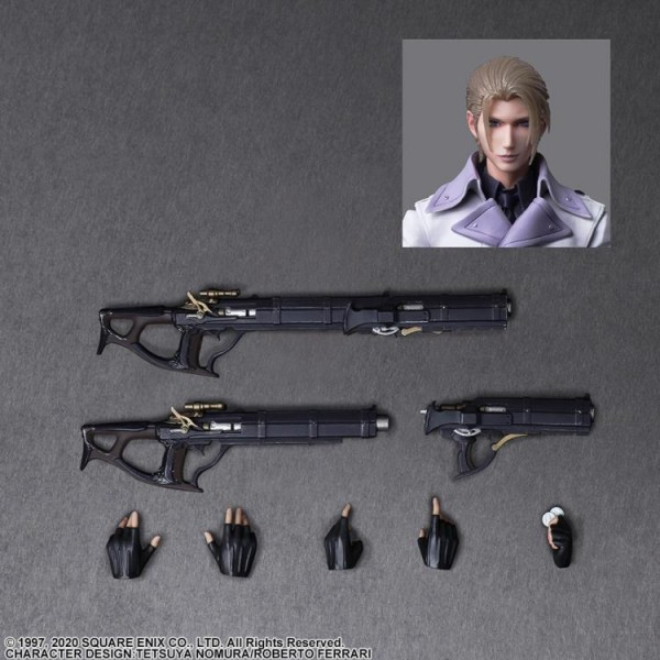 Final Fantasy VII Remake Play Arts Kai Actionfigur Rufus Shinra
