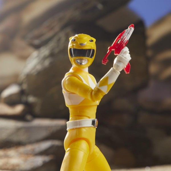 Power Rangers Lightning Collection Actionfigur 15 cm Mighty Morphin Yellow Ranger
