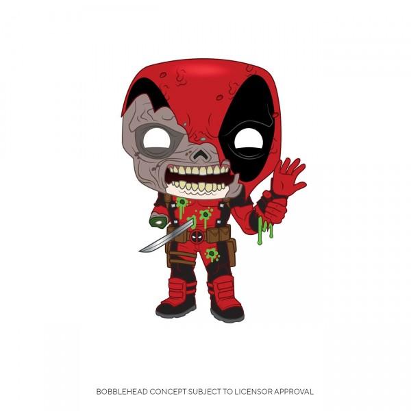 Marvel Funko Pop! Vinylfigur Zombie Deadpool