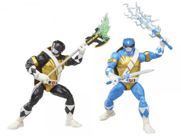 Power Rangers x Turtles Lightning Collection Actionfiguren 15 cm Morphed Donatello & Leonardo (2-Pac