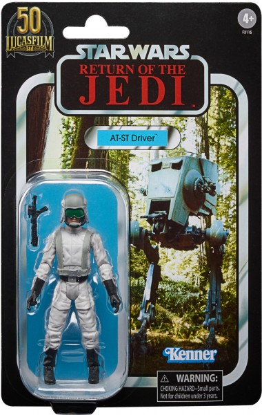 Star Wars Vintage Collection 50th Anniversary Lucas Film Actionfigur 10 cm AT-ST Driver (Exclusive)