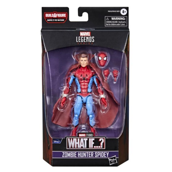What If...? Marvel Legends Actionfigur Zombie Hunter Spidey