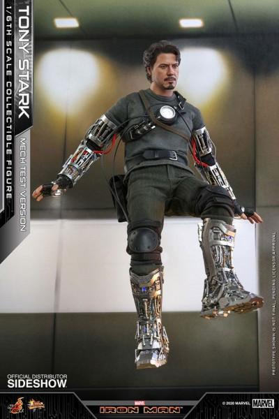 Iron Man Movie Masterpiece Actionfigur 1/6 Tony Stark (Mech Test Version)