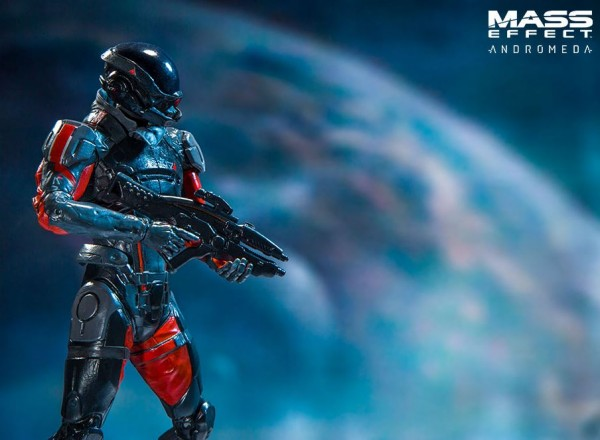 Mass Effect Color Tops Actionfigur Scott Ryder