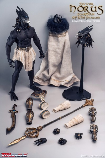 Phicen / TBLeague 1/6 Actionfigur King and Vengeful God Horus (Silver Edition)