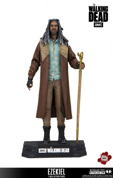 Walking Dead TV Actionfigur Ezekiel