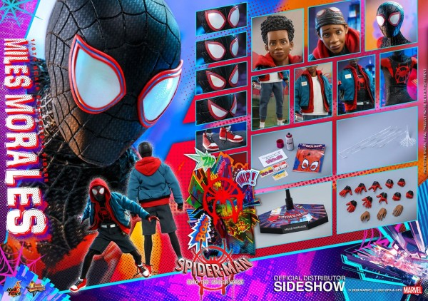 Spider-Man A New Universe Movie Masterpiece Actionfigur 1/6 Miles Morales