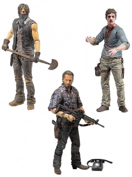 Walking Dead TV Actionfiguren-Set Serie 7.5