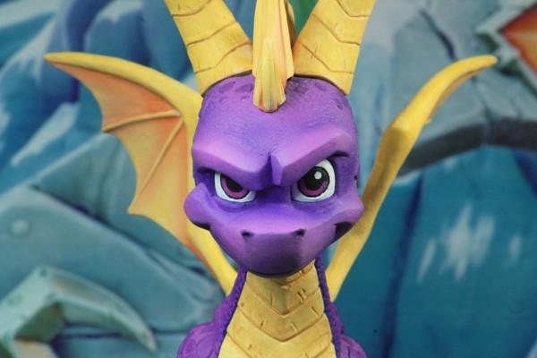 Spyro the Dragon Actionfigur Spyro