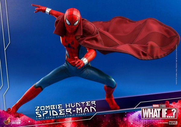 What If...? Animated Series Masterpiece Actionfigur 1/6 Zombie Hunter Spider-Man