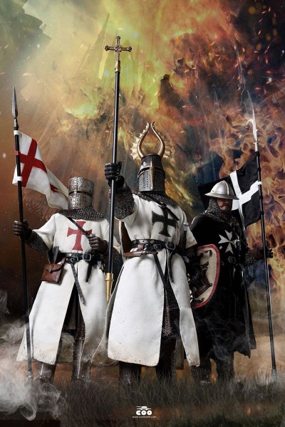 Coomodel Series of Empires Die-Cast Actionfigur 1/6 Crusader Knights Glory of the Holy City