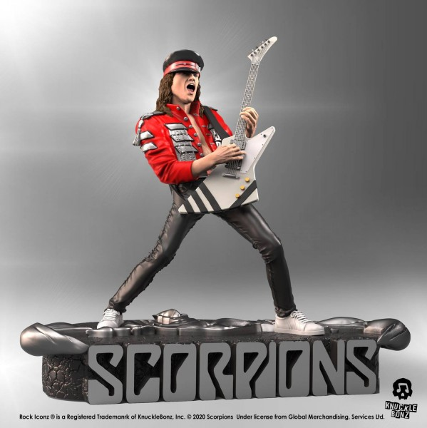 Scorpions Rock Iconz Statuen 3er Pack (Limited Edition)