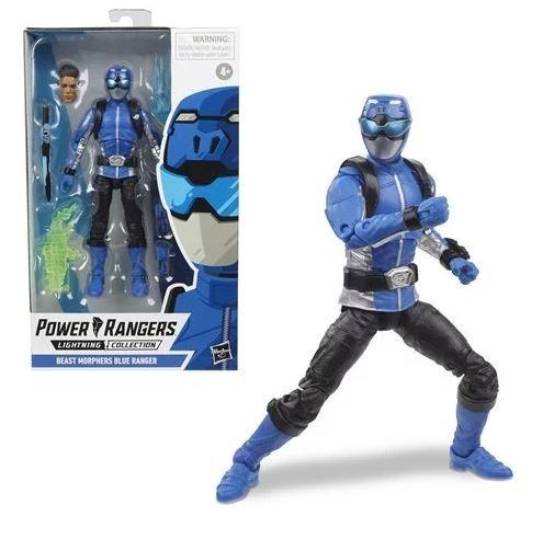 Power Rangers Lightning Collection Actionfigur 15 cm Beast Morphers Blue Ranger