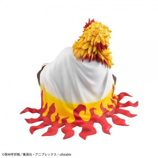 Demon Slayer Kimetsu no Yaiba G.E.M. Statue Rengoku (Palm Size Edition) Deluxe Version