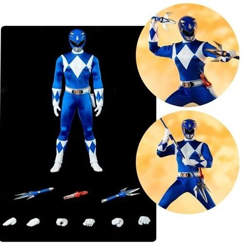 Mighty Morphin Power Rangers FigZero Actionfigur 1/6 Blue Ranger