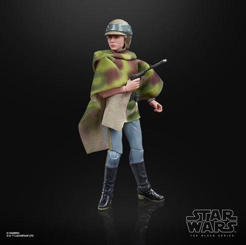 Star Wars Black Series Actionfigur 15 cm Princess Leia Organa (Endor Battle Poncho)