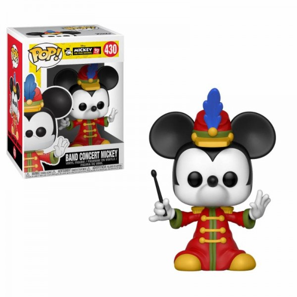 Mickey Mouse 90th Anniversary Funko Pop! Vinylfigur Band Concert Mickey 430