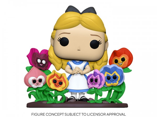 Alice in Wonderland 70th Anniversary Funko Pop! Vinylfigur Alice with Flowers (Deluxe)