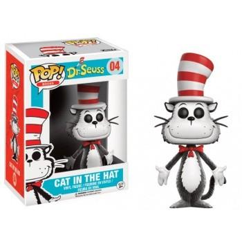 Dr. Seuss Funko Pop! Vinylfigur Cat In The Hat (Flocked) 04 Exclusive