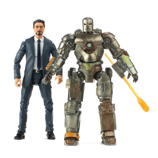 Marvel Legends Cinematic Universe 10th Anniversary Actionfiguren Tony Stark & Iron Man Mark I (2-Pac