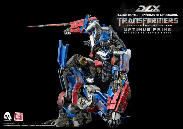 Transformers: Revenge of the Fallen DLX Scale Actionfigur 1/6 Optimus Prime
