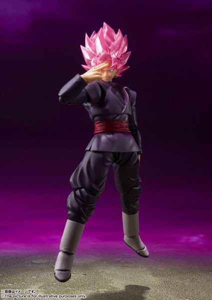 Dragonball Super S.H. Figuarts Actionfigur Goku Black (Super Saiyan Rose)