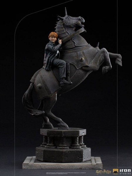 Harry Potter Art Scale Statue 1/10 Ron Weasley at the Wizard Chess (Deluxe)